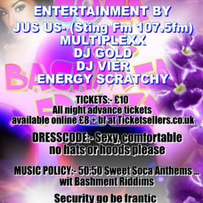 GET ON BAD the OFFICIAL SOCA vs BASHMENT FRENZY Tickets | THE BARTONS ARMS BIRMINGHAM  | Sat 25th April 2009 Lineup