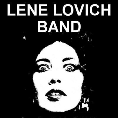 Lene Lovich Band + Guests Tickets | Dry Live Manchester  | Sat 23rd March 2013 Lineup