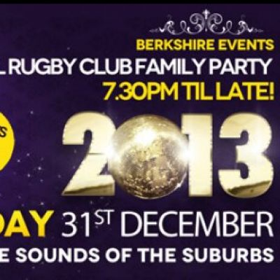 The Big New Years Eve Family Bash at Bracknell Rugby Club