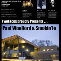 TwoFaces Presents........Paul Woolford & Smokin Jo. at The KP Club