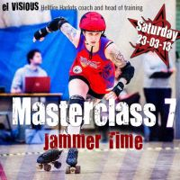 Hellfire Harlots roller derby Masterclass 7.1 - Jammer Time at Southglade Leisure Centre