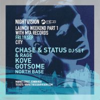 Nightvision Launch Weekend Part 1 with MTA Records