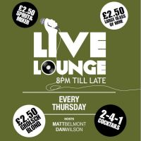 Live Lounge at The Parkrow Bar  And  Brasserie