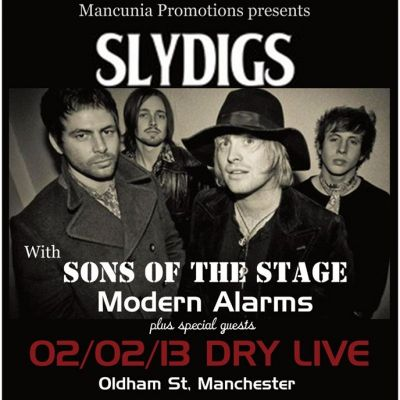 Mancunia Promotions presents SlyDigs & special guests Tickets | Dry Bar  And  Dry Live Manchester  | Sat 2nd February 2013 Lineup