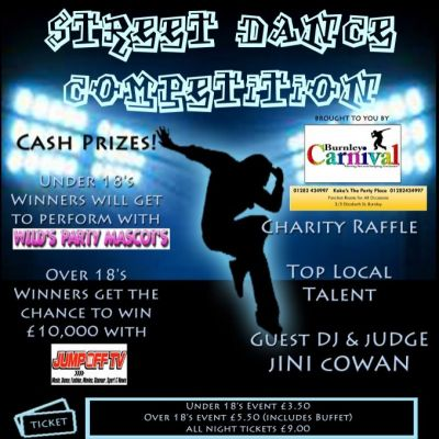 StreetDance Competition Tickets | Ko-ko's Burnley  | Fri 11th May 2012 Lineup