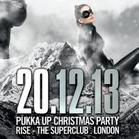 Pukka Up Christmas Party at Rise, London