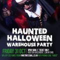Faded Warehouse Halloween Party