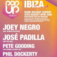 Pop Up Party IBIZA Sunset