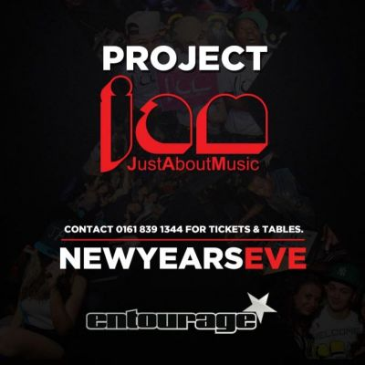 JAM - NEW YEARS EVE Tickets | Entourage Manchester   | Mon 31st December 2012 Lineup