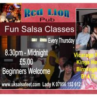 Salsa Dancing in Birmingham at Red Lion Pub