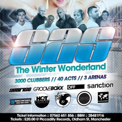 S2S Presents the Winter Wonderland - Boxing Day Special at Park Hall