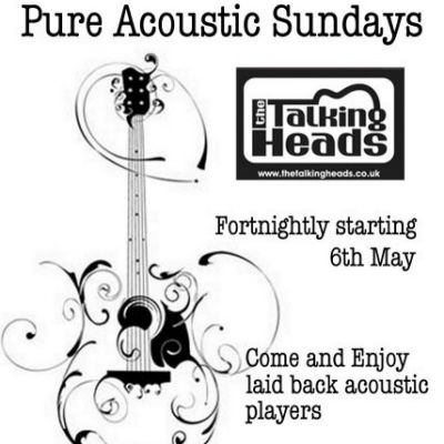 Pure Acoustic Sunday | The Talking Heads Southampton  | Sun 15th July 2012 Lineup