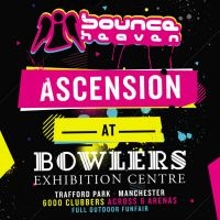 Bounce Heaven Ascension / History In The Making / 6000 Clubbers / 6 Arenas / 86 DJ's / 19 MC's