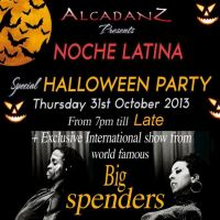 HALLOWEEN PARTY @ NOCHE LATINA 31ST at Drapers Bar  And  Kitchen