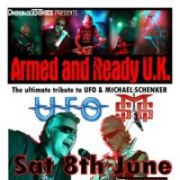 UFO / Michael Schenker tribute band - Armed and Ready at DreadnoughtRock