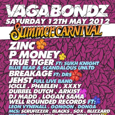 Reviews: Vagabondz Summer Carnival | Leeds University Union Leeds  | Sat 12th May 2012
