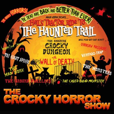 The Crocky Horror Show Halloween Family Event | The Crocky Trail Chester Chester  | Tue 22nd October 2013 Lineup