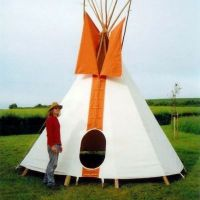 Tipi Hire at Shrewsbury Folk Festival 22-25 August 2014 at Shropshire And West Midlands Showground