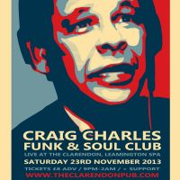 Craig Charles funk and soul club at The Clarendon