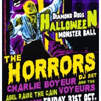 Diamond Dogs Halloween Ball 2014 feat. THE HORRORS, CHARLIE BOYER & THE VOYEURS, & MORE!