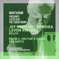 Nightvision presents Joy Orbison + more