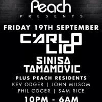 Peach Presents CARLO LIO & SINISA TAMAMOVIC