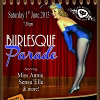 Burlesque Parade at The Royal British Legion
