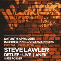 Inspired presents VIVa Warriors with Steve Lawler
