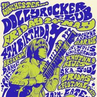 DOLLYROCKER CLUB- 4TH BIRTHDAY PARTY at The Winchester