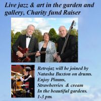 Live Jazz and Art in the Garden at Torquil