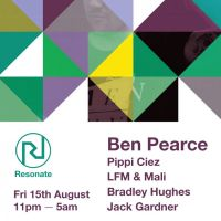 Resonate presents Ben Pearce