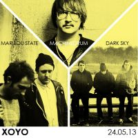 MACHINEDRUM x DARK SKY x MARIBOU STATE at XOYO