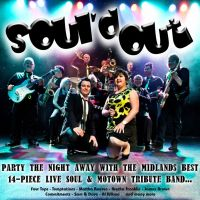 Sould Out - 14-piece LIVE Soul &#38; Motown Party Band at Robin RNB 2