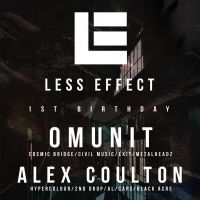 Less Effect 1st Birthday / OM UNIT / ALEX COULTON