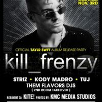 10.25.2014 |KILL FRENZY (DIRTYBIRD) - HOT N BOTHERED| Evil Olive