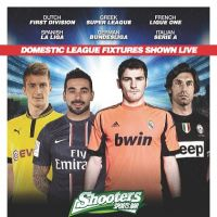 Showing all European Football!!! at Shooters Sports Bar