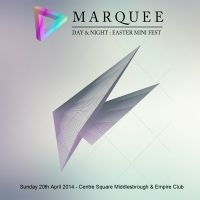 Marquee Easter Sunday mini Fest at Centre Square Middlesbrough