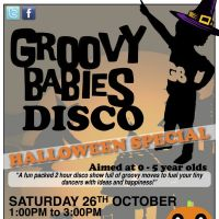 Groovy Babies Disco 'Halloween Special' at The Forum Music Centre