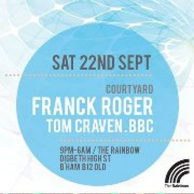 FACE meets 2:31 with Franck Roger Tickets | The Rainbow Complex Birmingham  | Sat 22nd September 2012 Lineup