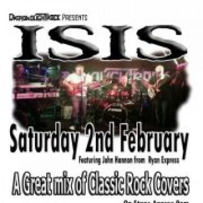 ISIS at DreadnoughtRock | DreadnoughtRock Bathgate  | Sat 2nd February 2013 Lineup