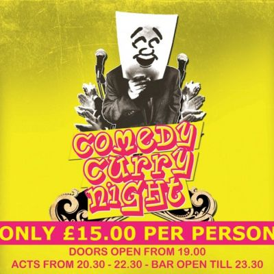 COMEDY CURRY NIGHT at Pontefract Racecourse � 5 Oct | Pontefract Racecourse Pontefract  | Fri 5th October 2012 Lineup
