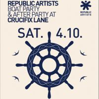 Republic Artists Boat Party & After Party at Crucifix Lane with Saytek Live (Cubism / Soma / KMS / My Favorite Robot)