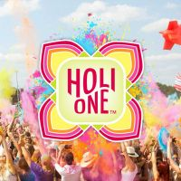 Brighton HOLI ONE Colour Festival at Brighton Racecourse