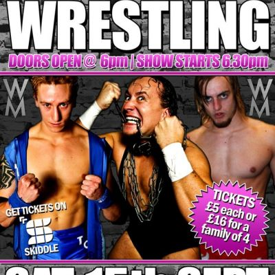 Wrestle Midlands: New Horizons Tickets | Netherton Arts Centre Dudley  | Sat 15th September 2012 Lineup