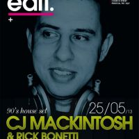 Edit presents CJ Mackintosh at Baluga