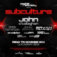 Digital Society Presents Subculture