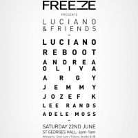 Freeze Presents Luciano and Friends... at St Georges Hall