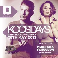 KOOSDAY TAKEOVER | BH SUNDAY | LIVE SET FROM BURNS & HOSTED BY CHELSEA FERGO! at The Basement