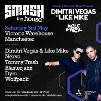 Cream & Composit pres Smash The House with Dimitri Vegas & Like Mike + More