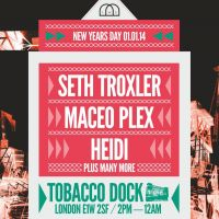 New Year's Day at Tobacco Dock